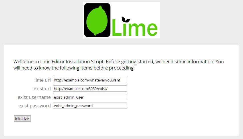LimeSetupScreenshot